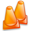 Construction Cone Emoticon