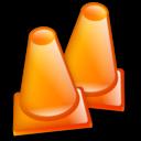 Construction Cone Emoticon