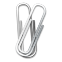Paper Clip Emoticon