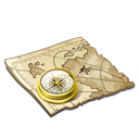 Treasure Map Emoticon