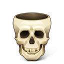 Skull Empty Emoticon