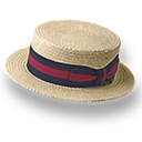 Hat Straw Derby Emoticon