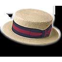 Hat Straw Derby Emoticon