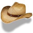 Hat Cowboy Straw Emoticon