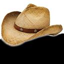 Hat Cowboy Straw Emoticon