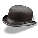 Hat Bowler Emoticon