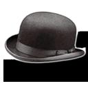 Hat Bowler Emoticon