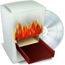 Burning Box V2 Emoticon