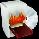 Burning Box V2 Emoticon