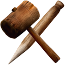 Hammer Stake Emoticon