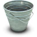 Empty Bucket Emoticon