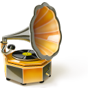 Phonograph Emoticon