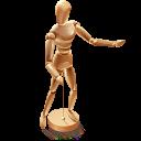 Woodmannequin Emoticon