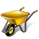 Wheelbarrow Emoticon