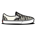 Vans Zebra Emoticon