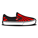 Vans Sundown Black Emoticon