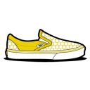 Vans Star Yellow Emoticon