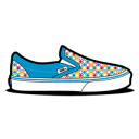 Vans Retro Dots Emoticon