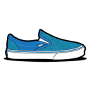 Vans Glitter Blue Emoticon