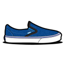 Vans Denim Emoticon