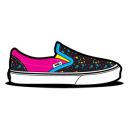 Vans CMYK Splat Emoticon