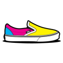 Vans CMYK Emoticon