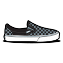 Vans Checkerboard Grey Emoticon