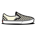 Vans Checkerboard Dirty White Emoticon