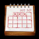 Wood Calendar Emoticon