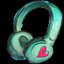 Headphone Emoticon