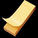 Yellow Sticker Emoticon