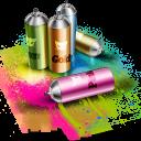 Spray Emoticon