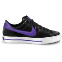 Nike Classic Shoe Purple Emoticon