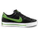 Nike Classic Shoe Green Emoticon