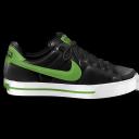 Nike Classic Shoe Green Emoticon