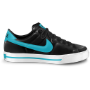 Nike Classic Shoe Blue Emoticon