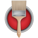 Paint Bucket Can Brush Emoticon