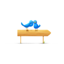 Birds And Sign Emoticon