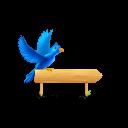 Bird Sign Emoticon