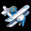 Twitter Plane Emoticon