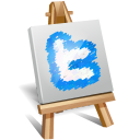 Twitter Painting Emoticon