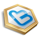 Twitter Hexa Yellow Emoticon