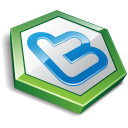 Twitter Hexa Green Emoticon
