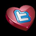 Twitter Heart Emoticon