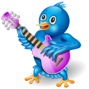Twitter Guitar Emoticon