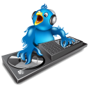 Twitter Dj Emoticon