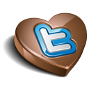 Twitter Chocolate Dark Emoticon