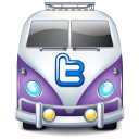 Twitter Bus Purple Emoticon