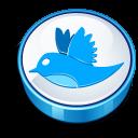 Twitter Bird Sign Emoticon
