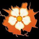 Social Inside Magnolia Emoticon